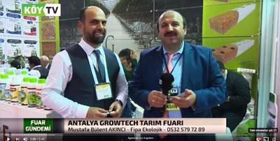 Antalya Growtech 2017 Fuarı