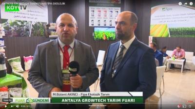 Antalya Growtech 2019 Fuarı Köy Tv Röportaj