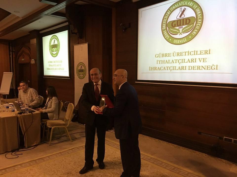 Gübre Üreticileri Derneğinin genel kurulu Antalya'da yapıldı